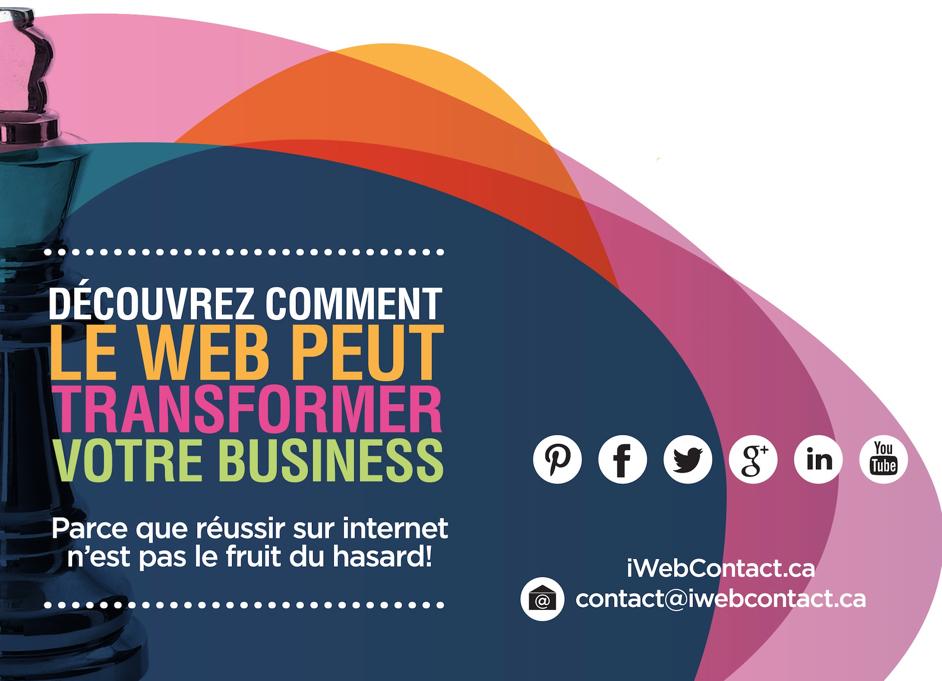 IWebContact réseaux sociaux